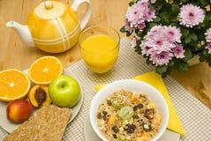 Gesundes Frühstück stockfoto