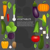 Gesundes Gemüse Lizenzfreie Stockfotografie