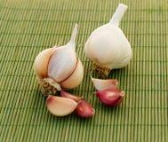 Gesundes Gemüse - Knoblauch Lizenzfreie Stockfotos