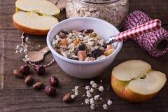 Gesundes Gluten freier muesli Abschluss oben Lizenzfreies Stockfoto