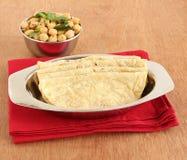 Gesundes indisches Lebensmittel Jowar Roti Stockbild