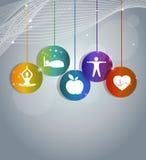 Gesundes Leben Lizenzfreie Stockfotos