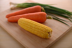 Gesundes Leben mit Mais Stockfotos