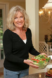 Gesundes Leben - Salat Stockfotografie