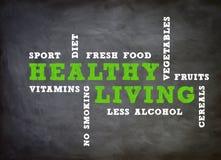 Gesundes lebendes Konzept Lizenzfreies Stockfoto