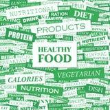 Gesundes Lebensmittel Stock Abbildung