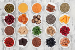 Gesundes Lebensmittel Lizenzfreies Stockbild