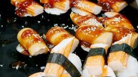 Gesundes Lebensmittel der Sushi lizenzfreie stockfotografie