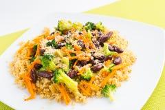 Gesundes Lebensmittel des strengen Vegetariers Stockbild