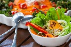 Gesundes Lebensmittel des strengen Vegetariers Lizenzfreie Stockbilder