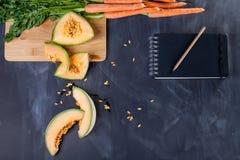 Gesundes Lebensmittel für das Mittagessen Stockbilder