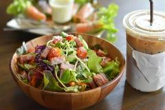 Gesundes Lebensmittel für die, die für Gesundheit sich interessieren Stockfoto