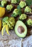 Gesundes Lebensmittel für gesunde Leute Stockfotos