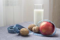 Gesundes Lebensmittel für Verlustgewicht Stockfotos
