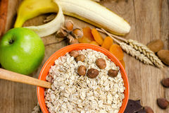 Gesundes Lebensmittel - gesunde Mahlzeit stockfoto