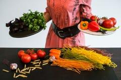 Gesundes Lebensmittelphotographiefotostudiostilist-Kunstblog Stockbild