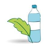 Gesundes Lebensstildesign über weißem Hintergrund, Vektorillustration Lizenzfreies Stockfoto
