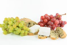 Gesundes Mediterranian Frühstück. Stockfotografie