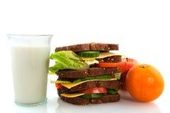Gesundes Mittagessen lizenzfreies stockfoto
