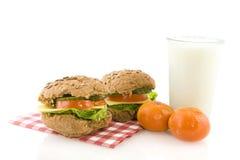 Gesundes Mittagessen lizenzfreie stockfotos
