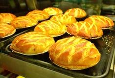 Gesundes Pastetchen mit Spinat Lizenzfreies Stockfoto