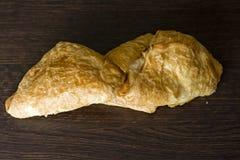 Gesundes Pastetchen mit Spinat Lizenzfreie Stockfotografie