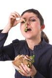 Gesundes Sandwich Lizenzfreie Stockfotos