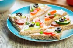 Gesundes Sandwich lizenzfreies stockbild