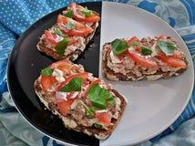 Gesundes Sandwich Stockfoto