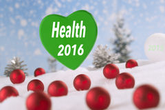Gesundheit 2016 Stockbilder
