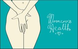 Gesundheit der Frauen stock abbildung