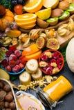 Gesundheit und Supernahrung, zum des Immunsystems aufzuladen, hoch in den Antioxydantien, in den Anthocyanin, in den Mineralien u stockbild
