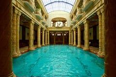 Gesundheits-Badekurort-Pool Europa lizenzfreies stockbild