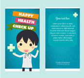 Gesundheits-Check oben Stockbild