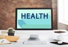 Gesundheits-Gesundheitswesen-körperliches Behandlungs-Eignungs-Konzept Stockfoto