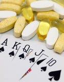 Gesundheits-Glücksspiel Lizenzfreie Stockbilder