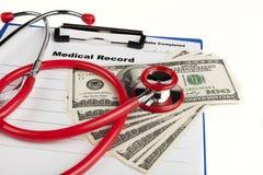 Gesundheits-Zahlung stockbilder