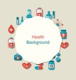Gesundheitshintergrund lizenzfreie abbildung