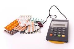 Gesundheitskosten lizenzfreie stockfotos