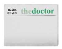 Gesundheitsnachrichten Lizenzfreies Stockbild