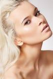 Gesundheitspflege, Badekurort u. Wellness. Schönheit mit sauberer Haut Lizenzfreies Stockfoto