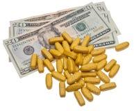 Gesundheitspflege-Kosten Lizenzfreies Stockbild