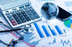 Gesundheitspflege und Medizin Stockbild