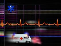 Gesundheitspflegehintergrund stock abbildung