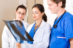 Gesundheitspflegeteam lizenzfreies stockfoto