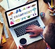 Gesundheitswesen-Behandlungs-Verhinderungs-medizinische Überprüfungs-Konzept Lizenzfreie Stockfotos