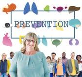 Gesundheitswesen-Behandlungs-Verhinderungs-medizinische Überprüfungs-Konzept Stockfoto