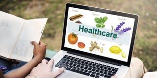 Gesundheitswesen-Behandlungs-Vitamin-gesundes Konzept Lizenzfreie Stockfotos