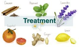 Gesundheitswesen-Behandlungs-Vitamin-Gesundheits-Konzept Stockfoto