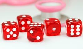 Gesundheitswesen-Glücksspiel Stockfotos
